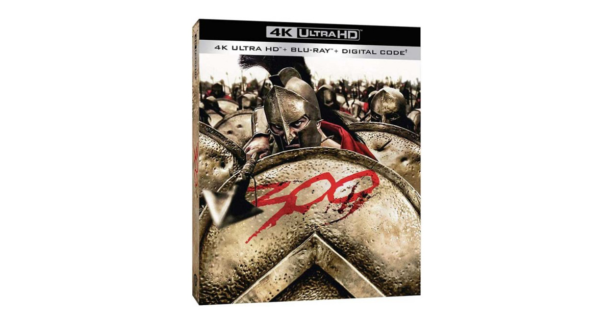 Frank Miller's 300 Upgraded to 4k Blu-ray w/Dolby Atmos