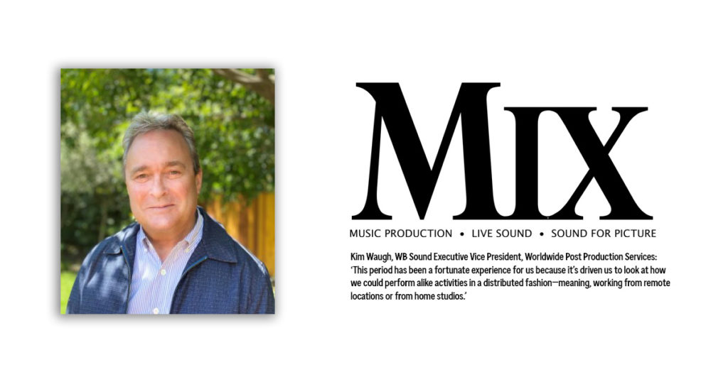 """Kim Waugh featured in """"The Future of Post-Production Sound"""""""