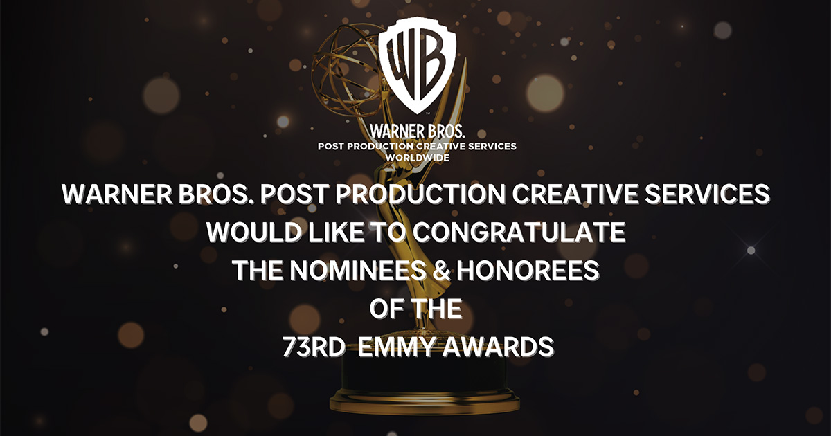 Congratulations to Our Nominees of the 73rd Emmy Awards